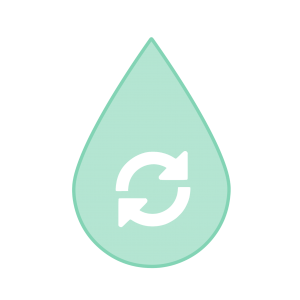 Cleaner jet fuel icon