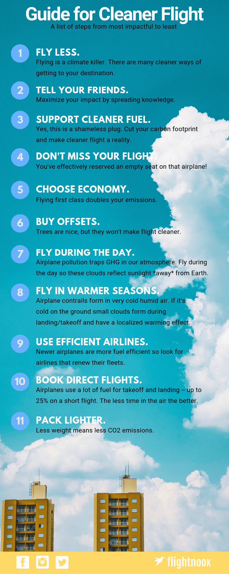 Flightnook- Guide More Sustainable Flight